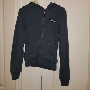 Volcom zip up sweater size medium